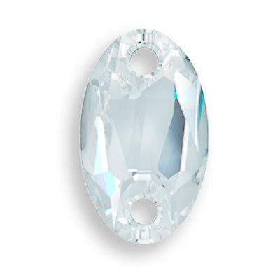 CALABROTE Cristal Swarovski 18x11 MM 1 Unidad - Crystal Moonlight