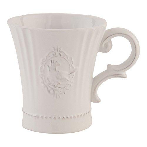Clayre & Eef 6CE0269 Becher Ø 10 * 13 * 11 cm Kaffeetasse Teetasse Vintage