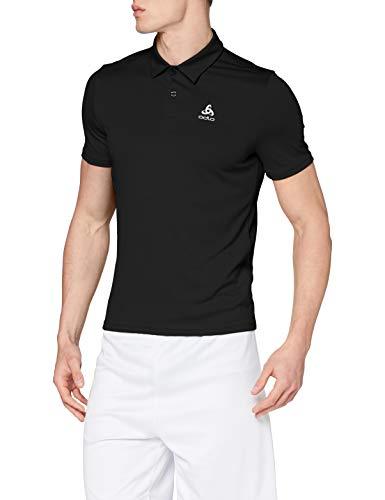 Odlo Mc Cardada Polo Homme Noir FR : S (Taille Fabricant : S)