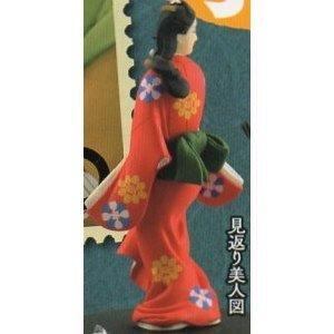 カプセルQミュージアム 日本切手立体図録 [2.見返り美人図](単品)