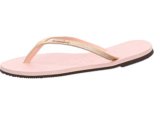 Havaianas You Shine Flip Flops Women Pink - 5.5/6.5 - Flip Flops Shoes