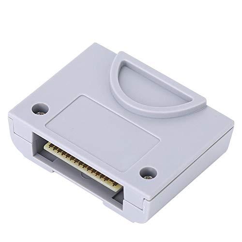 Topiky Speicherkarte für N64, wasserdichter 256-KB-Speicherkartenersatz für Nintendo 64 Game Console Controller
