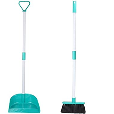 Home-X Broom and Dustpan Set
