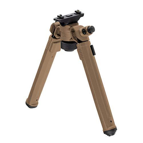 Magpul Rifle Bipod Gun Rest for Hunting and Shooting, M-LOK, Flat Dark Earth