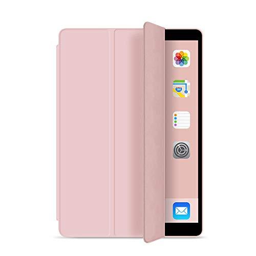 YYLKKB para iPad Proa 11 Funda para iPad 7ª generación 10.2 2019 Cover for 2017 2018 iPad 9.7 5 / 6th Air 2/3 10.5 Mini 4 5 Air 4 10.9 2020 Tablet Funda-Rosa_iPad Air 1 Air 2