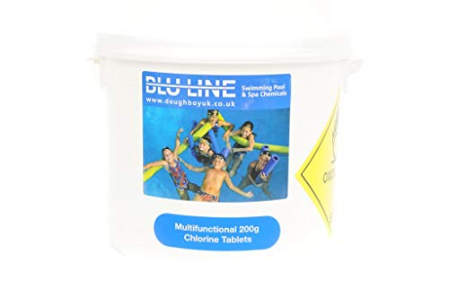5 kg Multifunctional 200g large chlorine tablets for swimming pools