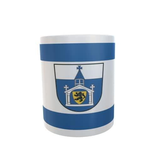 U24 Tasse Kaffeebecher Mug Cup Flagge Inden (Rheinland)