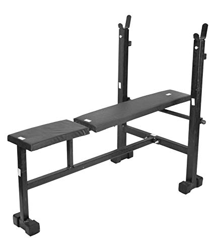 RV Fitness Gym Bench | Gym Bench | Exercise Bench | 250Kg Weight Handle | Multipurpose Gym Bench (3 in 1 Adjustable)
