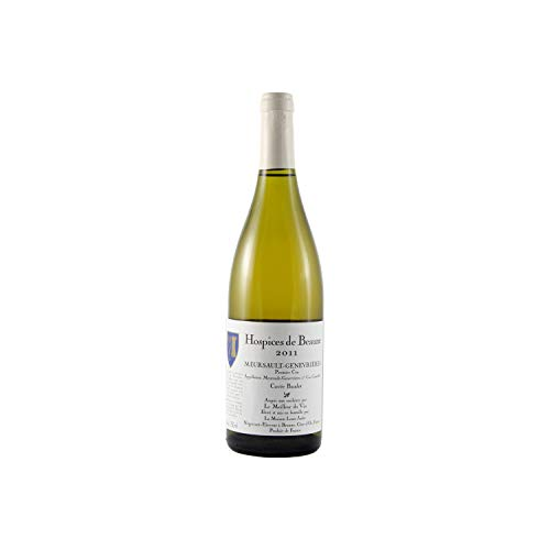 Meursault 1er Cru Genevrières Cuvée Baudot Weißwein 2011 - Hospices de Beaune - g.U. - Burgund Frankreich - Rebsorte Chardonnay - 75cl