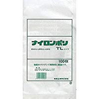 福助工業 ナイロンポリ TLタイプ規格袋 13-18 (100枚)巾130×長さ180mm