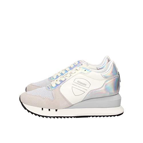 Blauer S1CASEY01/OLO Sneakers Donna Bianco 39