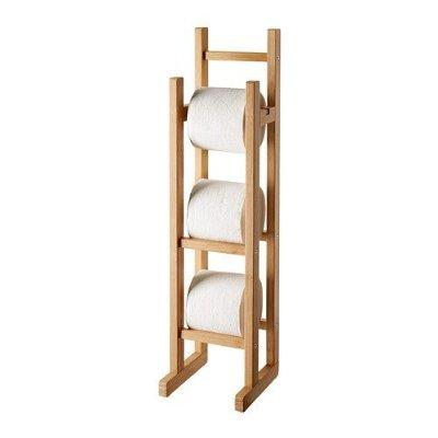 Ikea ragrund–Papel higiénico Soporte bambú
