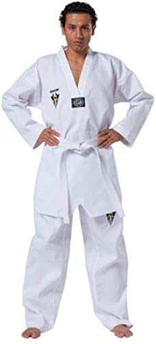 Kwon - Dobok Starfighter Kwon col blanc First sans marquage Taille - 160cm