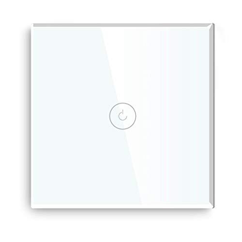 BSEED Interruptores de luz de pared Smart WiFi Touch Sensor (se...