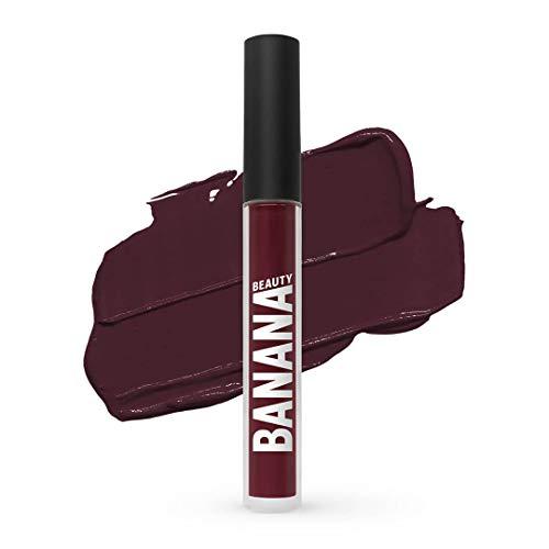 Banana Beauty Choco Loco (3 ml) – Semi Matte Liquid Lipstick – flüssiger Lippenstift matt für...