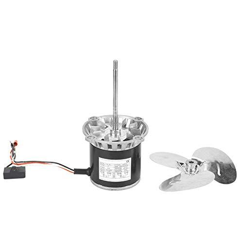 Alta temperatura KL-45 220V Motor de engranajes Accesorios para herramientas eléctricas Eje largo para herramienta eléctrica para coche de juguete con ventilador de refrigeración