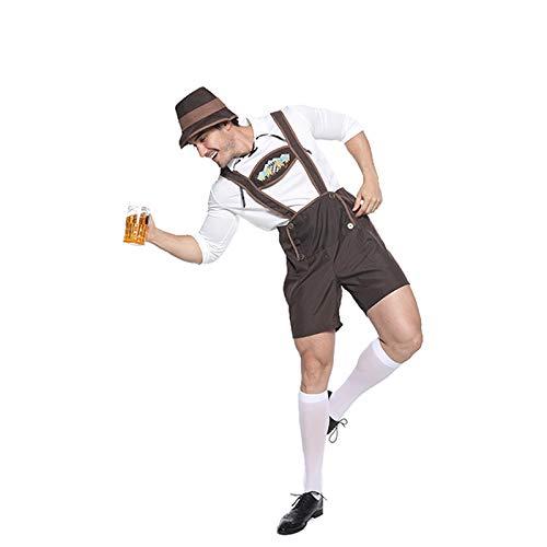 gousheng Oktoberfest Bib Set Karneval Party KostüM Cosplay Beer Festival Performance Requisiten L