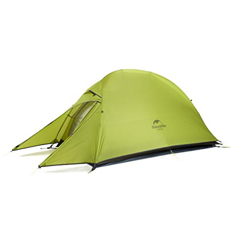 Naturehike Cloud-up Ultraleichte 1 Personen Single Zelt 3-4 Saison Camping Zelt (20D Hellgrün Upgrade)