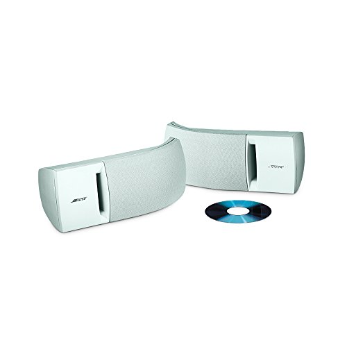Bose 161 speaker system (pair, white) - ideal for stereo or home theater use - 27028