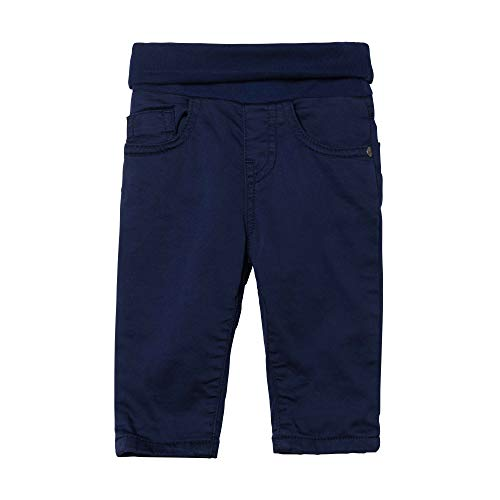 Steiff Hose Pantalon, Bleu (Patriot Blue 6033), 62 Bébé garçon