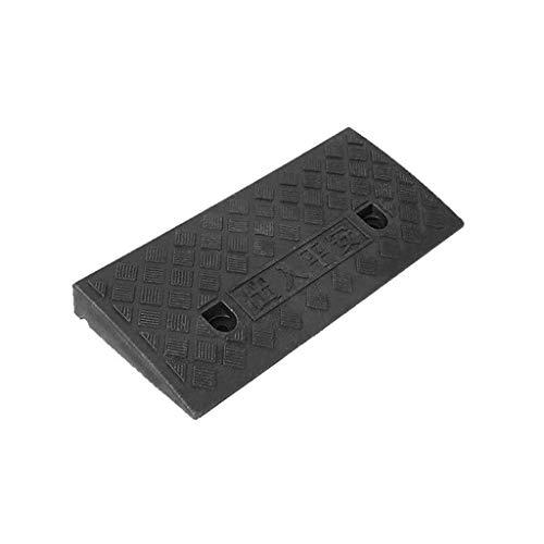 Z-W-Dong Cuesta Arriba Negro Pad, Umbral Oficina Sala de reuniones rampas de plástico Antideslizante Cuesta Arriba Pad Mat sótano Escaleras Paso Tamaño: 5-13.5CM Rampas
