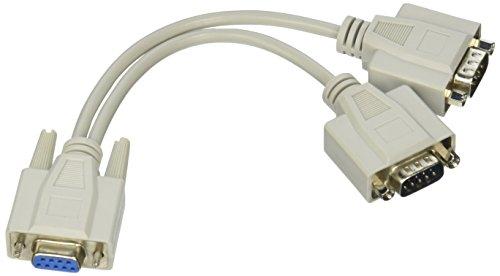 1 Feet QVS PP-ADPT2 Powercord Power Extension//Splitter Cable