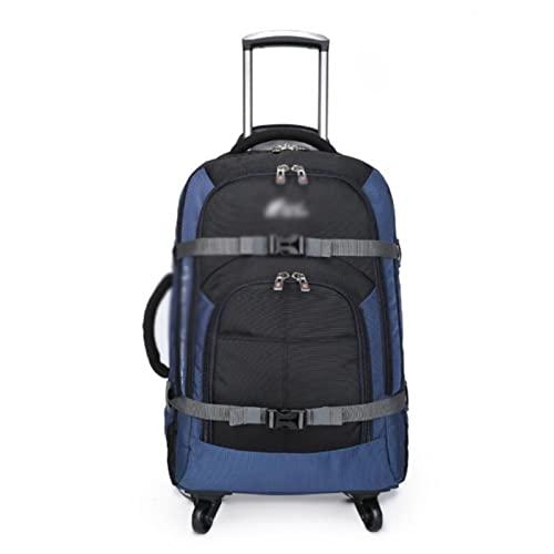MWYS Bolsas de viaje con ruedas para bolsas de viaje con ruedas, ruedas, equipaje de viaje, mochila con ruedas (color: 20 pulgadas)