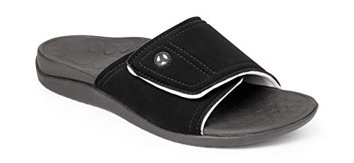 Vionic Kiwi Slide Sandal - Slide Sandal with Concealed Orthotic Arch Support