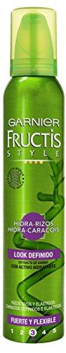 Garnier Fructis Style Espuma Hidra-Rizos 5 Acciones, 200 ml