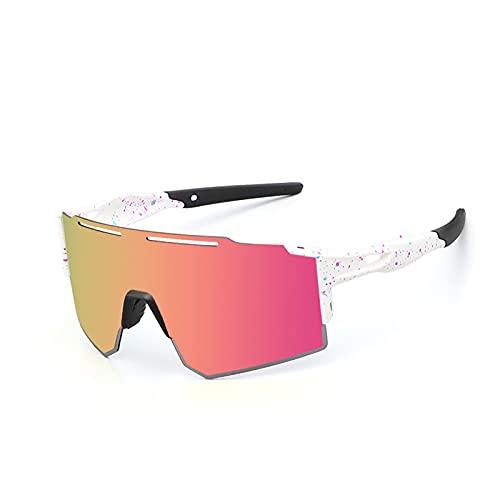 HBHBYNYN Gafas de Sol Deportivas para Mujer para Mujer UV400 Lentes fotocromáticas de Gafas de Ciclismo MTB Gafas de Bicicletas Pesca de béisbol Senderismo Running Driving Golf Gafasses (Color : B)