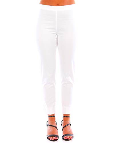 CARACTERE P140 A 100 Pantaloni Donna Bianco 40