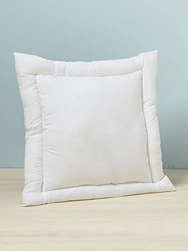 Vertbaudet Oreiller Plat thermorégulateur traité Passerelle® Blanc 60X60