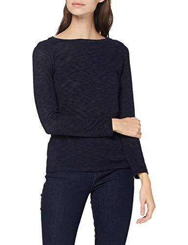 Esprit 090EE1K307 Camiseta, 400/azul Marino, L para Mujer