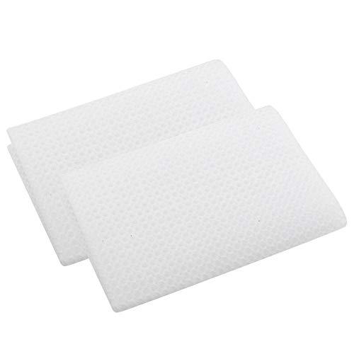 YOUTHINK Accessori per filtri per Acquario di filtraggio per Acquario di filtraggio per Acquario di Cotone 3D per purificazione dell'Acqua di Acquario 2X 48x48cm