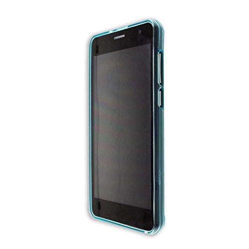 caseroxx TPU-Hülle für Archos Access 50 Color 3G, Handy Hülle Tasche (TPU-Hülle in hellblau)