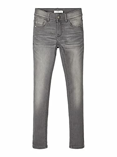 Name IT NOS Girls NKFPOLLY DNMTASIS 4325 PANT NOOS Jeans, Light Grey Denim, 134