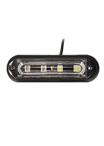 YONGYAO 4 Lumière De Feux De Jour LED Blanche Ultra Brilliante Voiture Camion Stroboscopique d'urgence Flash Clignotant Orange Et Blanc