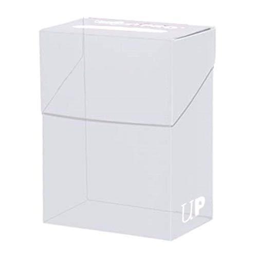 Amigo Spiel + Freizeit 330451 Pro Solid Deck Box Clear w/Bag -81454 - Sammelkartenzubehör