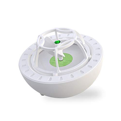 OMKMNOE Mini lavavajillas Vibración Ola Ultrasonic Mini Lavavajillas Ahorro de energía Exquisito USB Lavavajillas Adecuado para pequeños Apartamentos Familiares,Verde