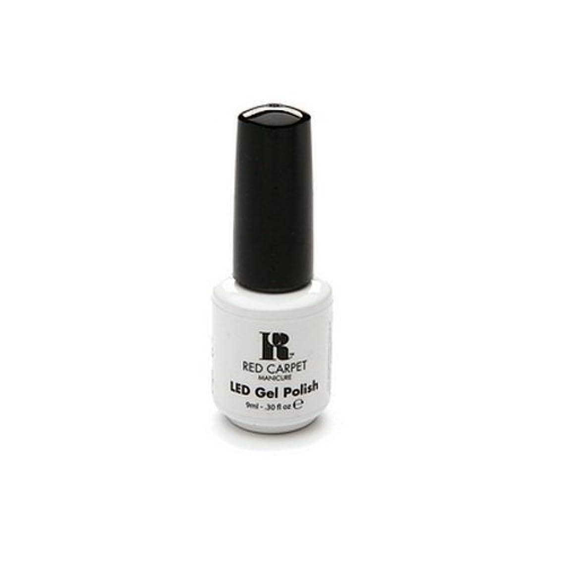 幾何学ドアエラーRed Carpet Manicure - LED Nail Gel Polish - Iconic Beauty - 0.3oz / 9ml