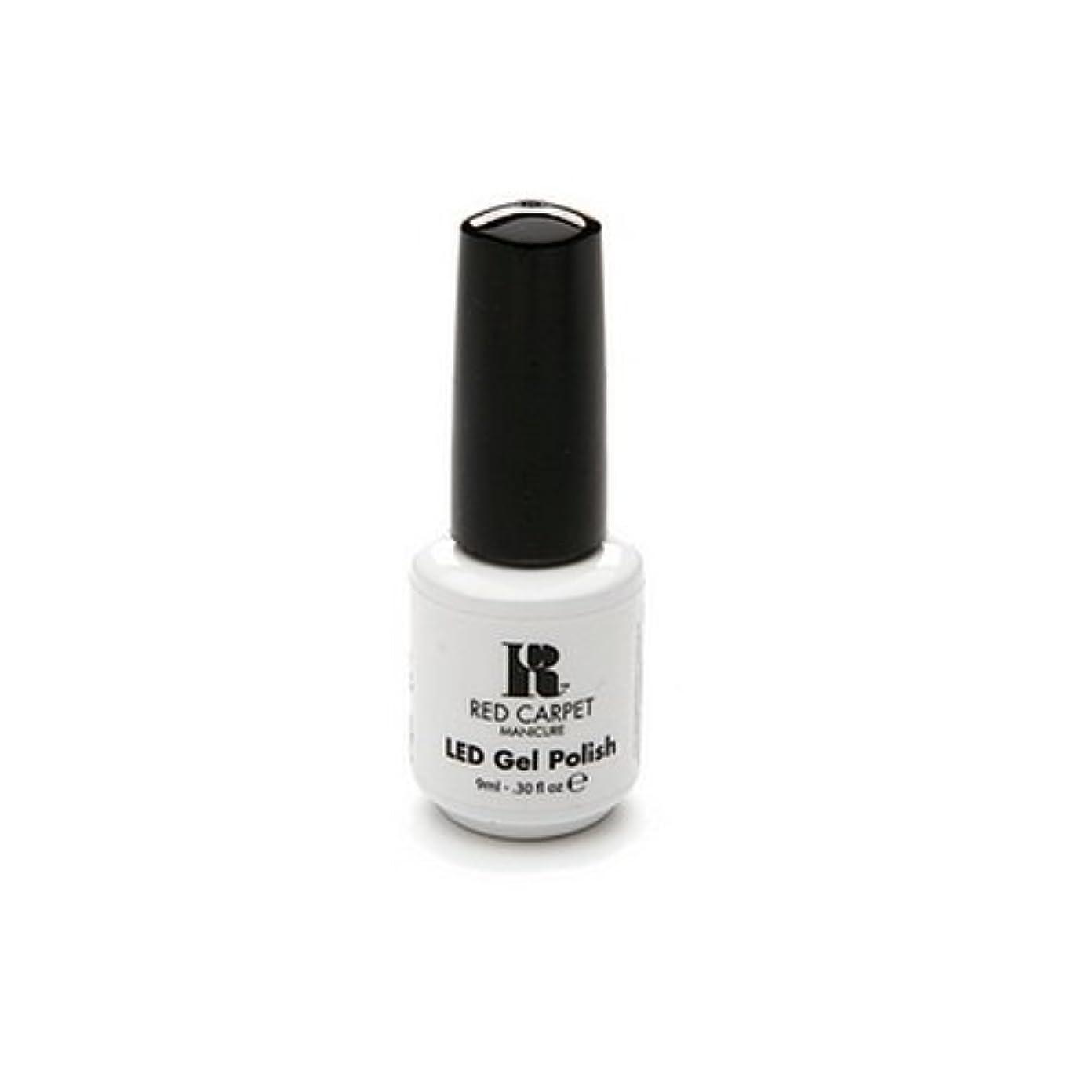 涙いつでも硬化するRed Carpet Manicure - LED Nail Gel Polish - Iconic Beauty - 0.3oz / 9ml