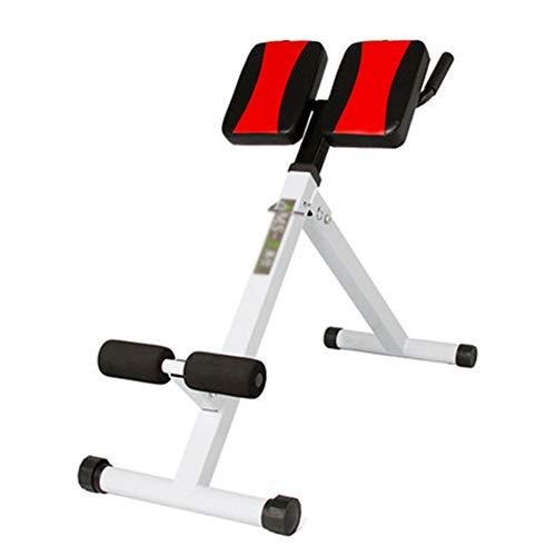 ZXCV Rückentrainer Geräte, Aerobic Übung, Rückentrainer Verstellbar Hyperextension Bauchtrainer Verstellbar mit Gepolsterter Beinfixierung, Belastung 200 kg