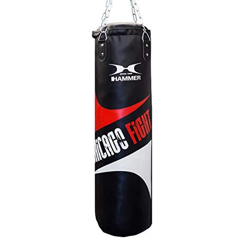 HAMMER Chicago Fight Boxsack, schwarz, 100 cm