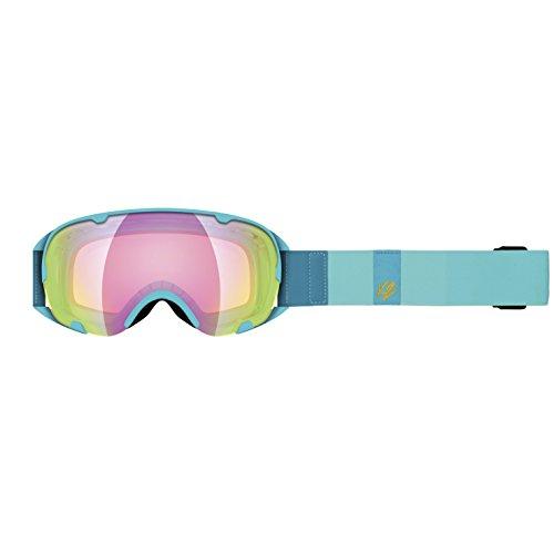K2 Skis Skibrille SCENE, blue glacier/Sunrise/amber flash, One Size
