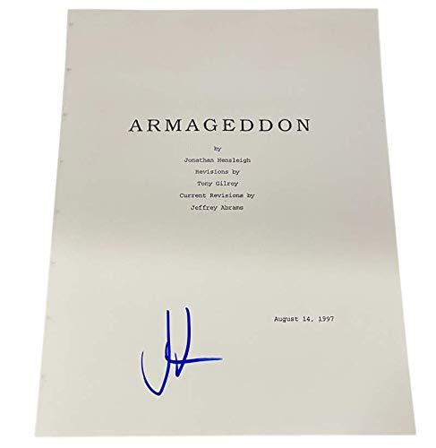 JJ ABRAMS SIGNED ARMAGEDDON FULL SCRIPT AUTHENTIC AUTOGRAPH COA