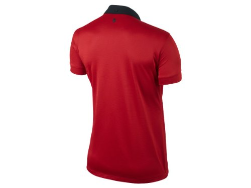 Manchester United Womens Short Sleeve Home Jersey (Diablo Red)- 2014/14 (XL)