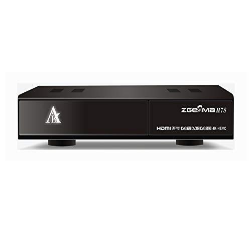 4K UHD Receptor De TV ZGEMMA H7S Linux OS Enigma2 para Satélite y Cable 2xDVB-S2X+DVB-T2/C Tres Sintonizadores