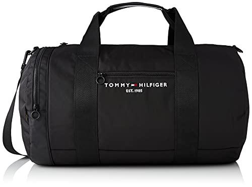Tommy Hilfiger Herren Th Established Duffle Bags, Schwarz, Medium