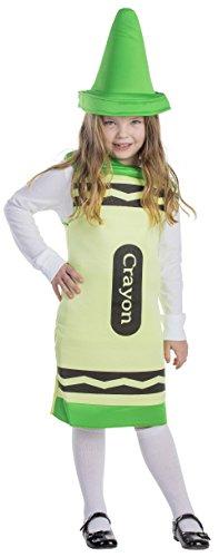 Dress Up America Déguisement de Crayon vert pour enfants