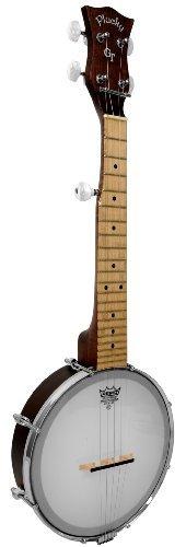 Mini banjo en tono dorado